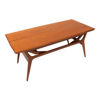 Vintage Danish Mid-Century Teak Coffee Dinning Table