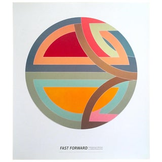 "Frank Stella Lithograph Print Abstract Museum Exhibition Poster "" Sinjerli Variation I "" 1968 For Sale"