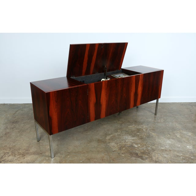 1970s Rosewood Record Cabinet - Image 6 of 11