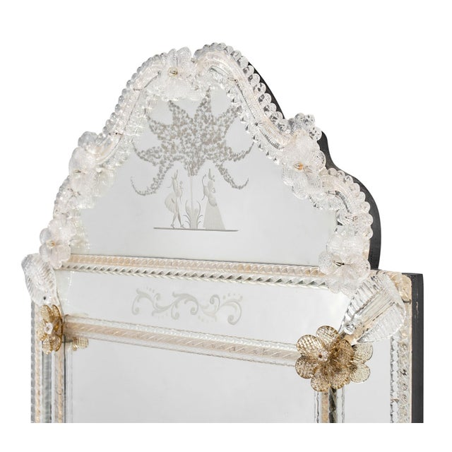 Antique Venetian Mirror For Sale - Image 4 of 10