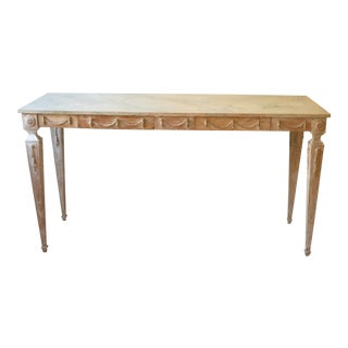 20th Century Italian Neo Classical Console Table For Sale