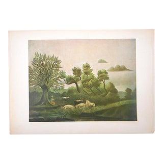Vintage Ltd. Ed. Post-Impressionist/Surrealist Lithograph-Henri Rousseau (Fr. 1844-1910)