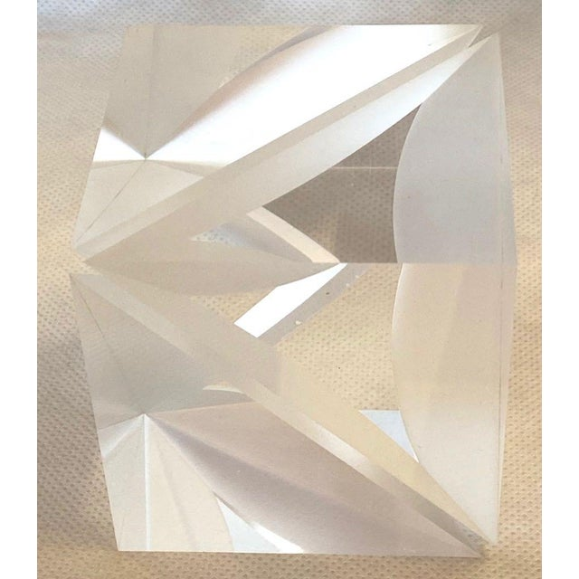 1970s 1970s Italian Alessio Tasca Lucite Cube For Sale - Image 5 of 13