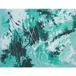 C. Plowden Mint Garden-Abstract Painting