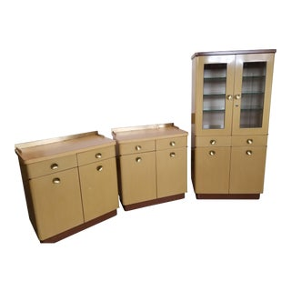 Vintage Medical Cabinets - Set of 3 For Sale