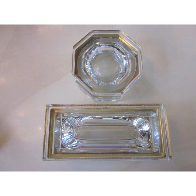 1950s Vintage Mandruzzato Murano Glass Box For Sale - Image 5 of 6