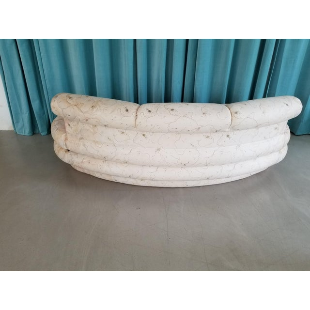 Adrian Pearsall for Comfort Designs Curved Kidney Shaped Sofa/ Final Markdown - Image 3 of 5