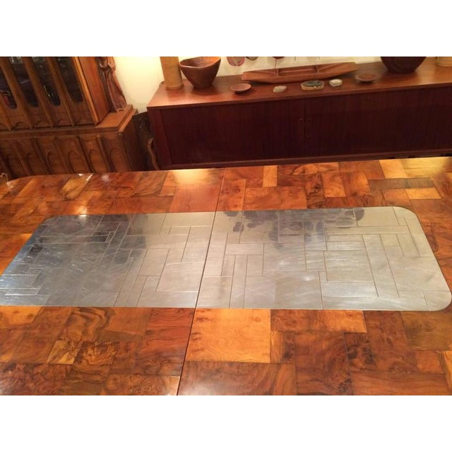 Metal Paul Evans for Directional Cityscape Dining Table For Sale - Image 7 of 11
