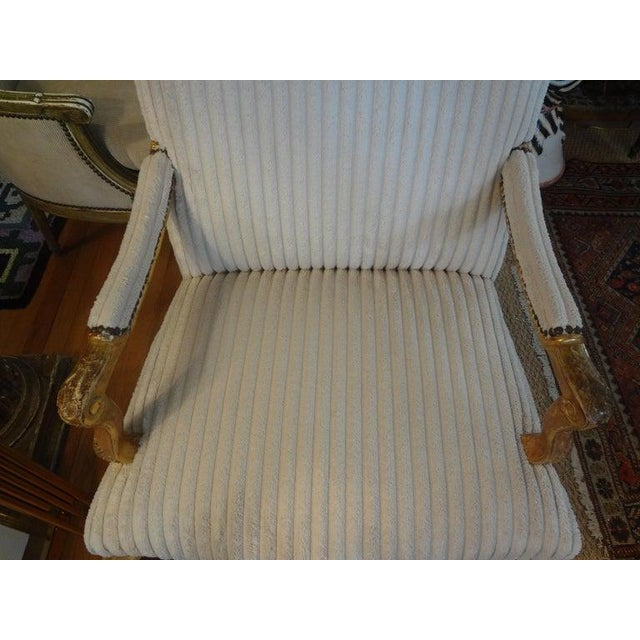 18th Century 18th Century French Régence Giltwood Chair For Sale - Image 5 of 13