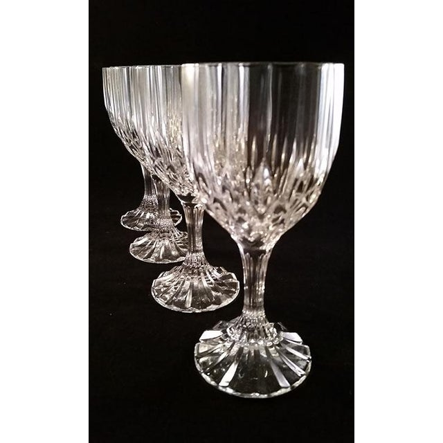 Cristal D' Arques-Bretagne Wine Glasses - Set of 4 For Sale - Image 5 of 6