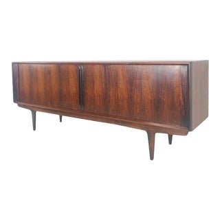 Jacaranda Rosewood Sideboard by Gunni Omann for Omann Jun Mobelfabrik For Sale
