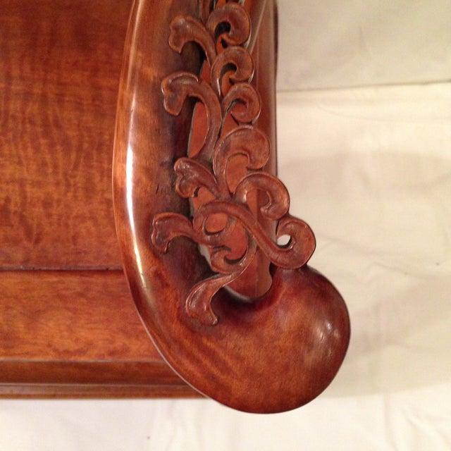 19th Century Hardwood Horseshoe Chairs - A Pair - Image 6 of 7