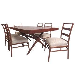 T.H. Robsjohn-Gibbings for Widdicomb Mid-Century Dining Set For Sale