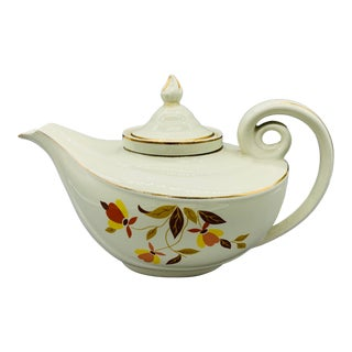 Hall Autumn Leaf Teapot With Infuser For Sale