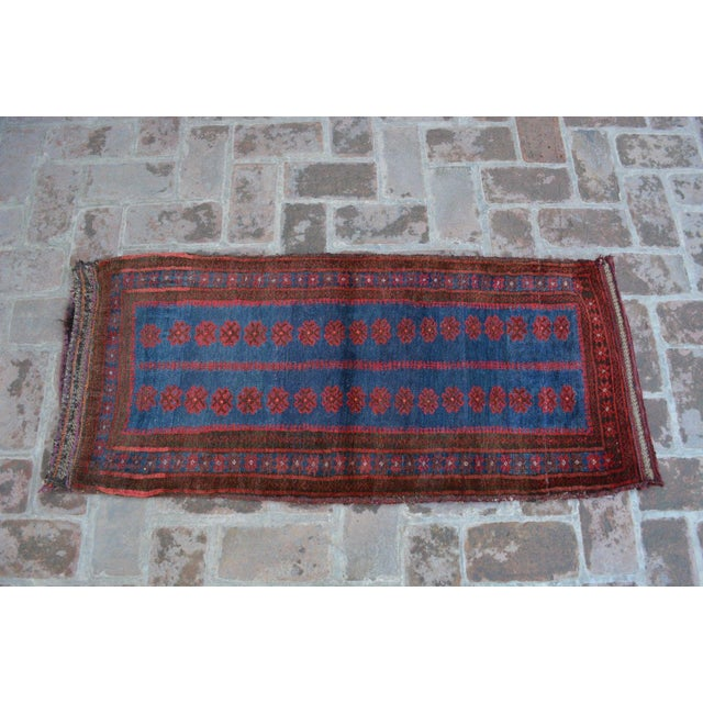Pushti Decorative Tribal Floor Cushion For Sale - Image 5 of 5