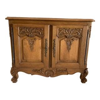 Louis XV Buffet Varnish 2 Door Cabinet For Sale