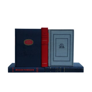 Russia Hardcover Book Collection - Set of 5 For Sale
