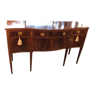 Hickory Serpentine Front Sideboard For Sale
