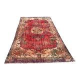 Image of 1960s Vintage Turkish Oushak Carpet - 5′9″ × 10′2″ For Sale