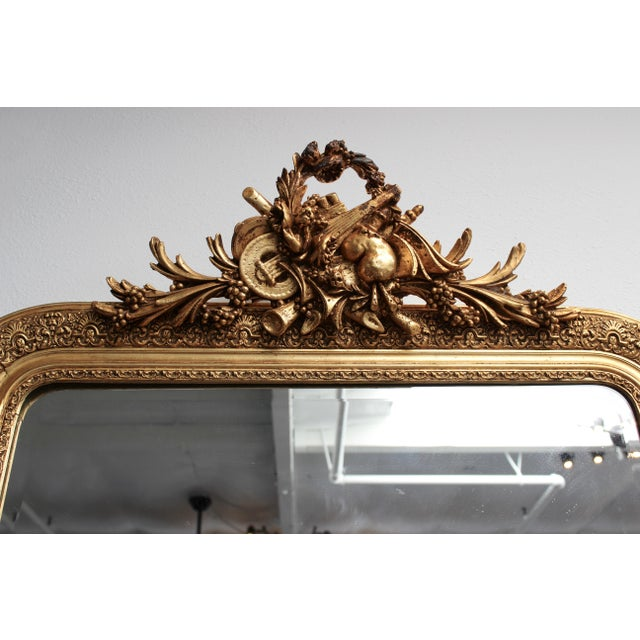Early 20th Century French Gold Gilt Mirror - Image 2 of 7