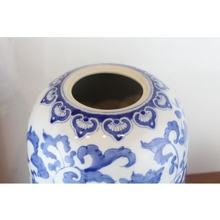 Antique Blue and White Temple Jar Preview