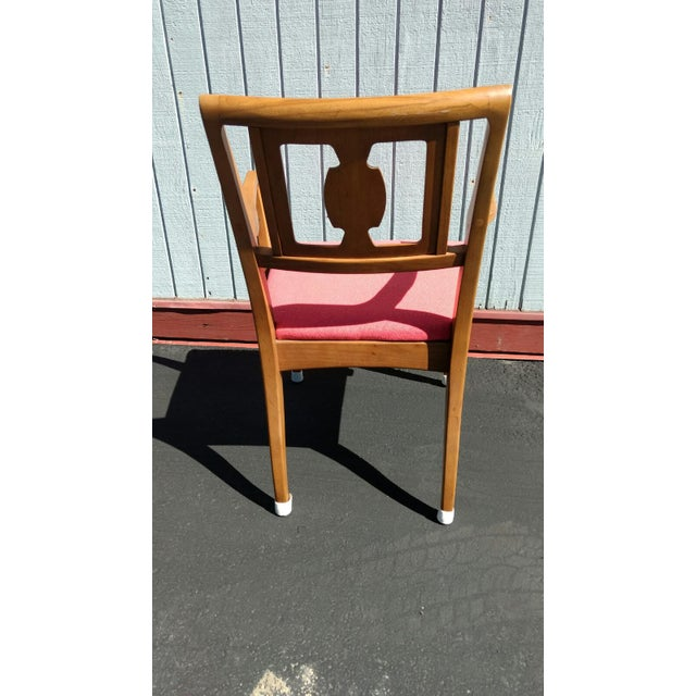 Drexel Butternut Dining Chairs - Set of 6From the Meridian Collection for For Sale - Image 5 of 8