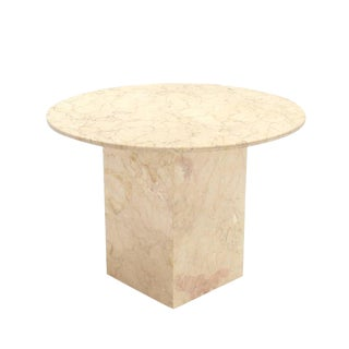 Marble Base and Top Gueridon Center Table For Sale