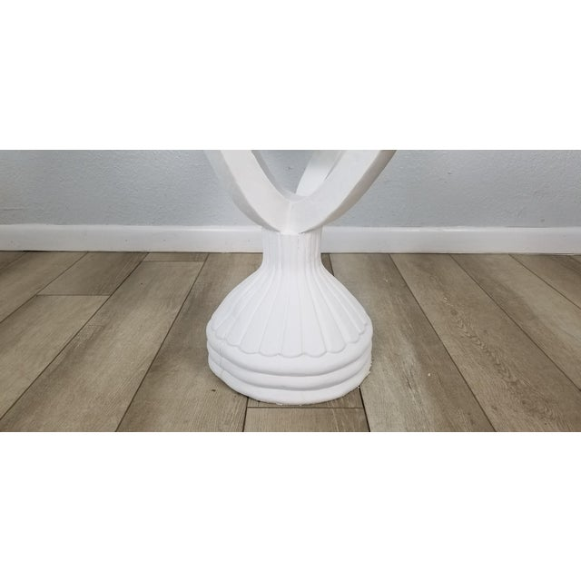 Grosfeld House Carved Wood Draped Dining Table Base . For Sale In Miami - Image 6 of 12