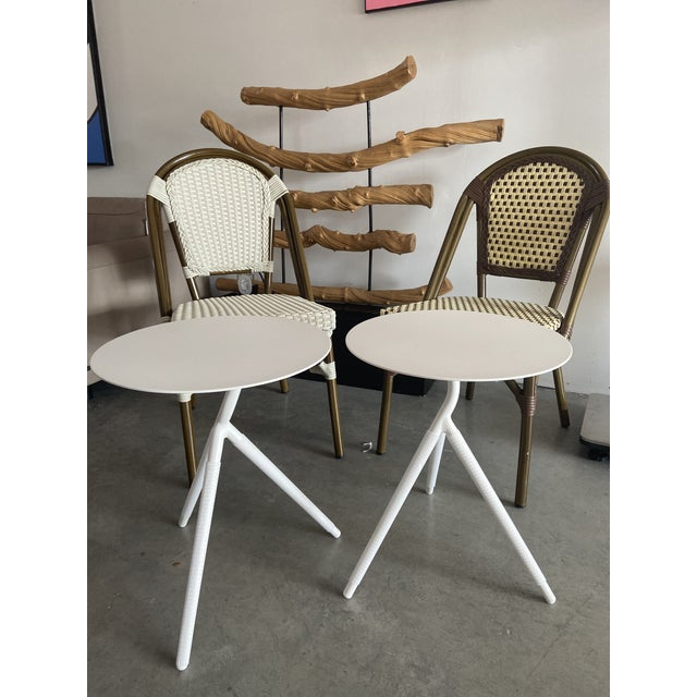Contemporary Hamlet Side Tables - A Pair For Sale - Image 3 of 4