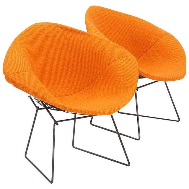 Knoll Bertoia Diamond Club Chairs - A Pair - Image 1 of 2