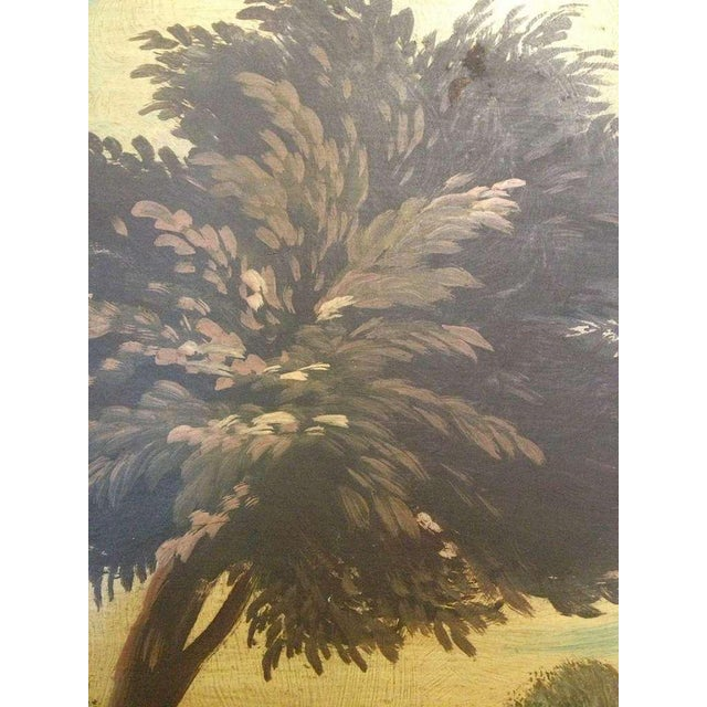 Pair of 19th Century Italian Landscapes For Sale In Savannah - Image 6 of 9