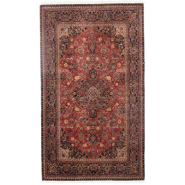 "2010s Traditional Pasargad N Y Persian Kashan Design Rug - 5'1"" X 8'7"" For Sale - Image 5 of 5"
