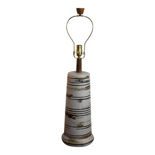 1970s Ceramic Table Lamp by Martz For Sale