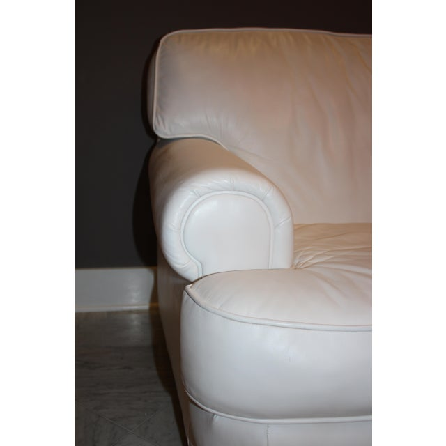 Top Grain Leather Loveseat by Emerson Leather - Image 3 of 10