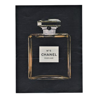 Matted Vintage Chanel #5 Advertisent Print For Sale