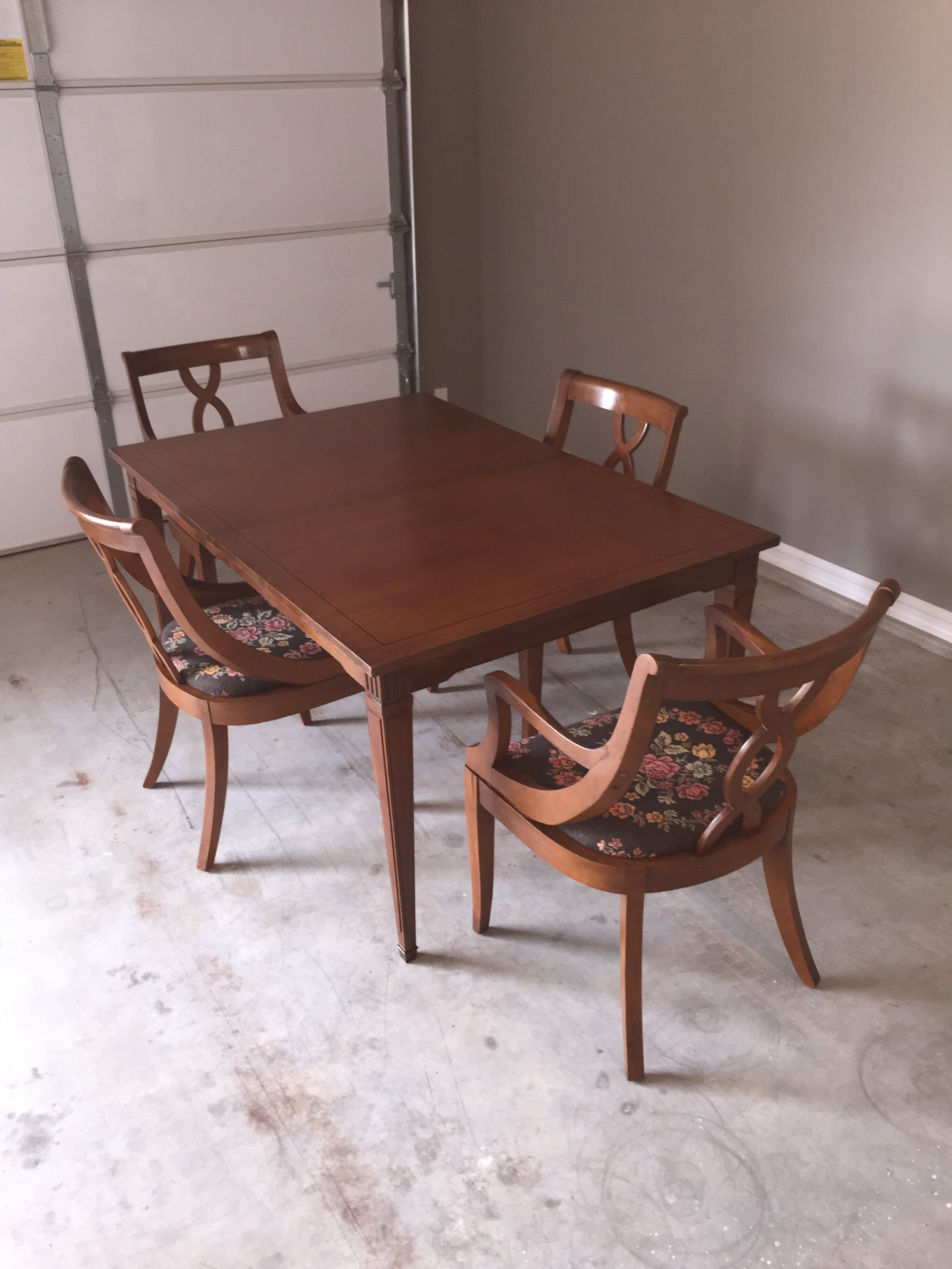 bernhardt dining room set haven this very elegant table and chair set from the bernhardt furniture company of lenore north 1950s dining table chairs set chairish