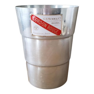 French Cordon Rouge Champagne Ice Bucket For Sale