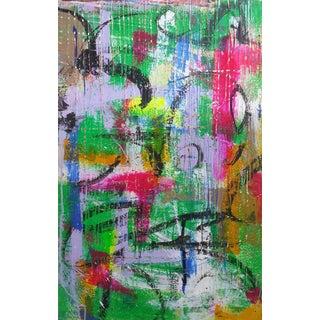 Acrylic on Panel Titled: Grasmeres III For Sale