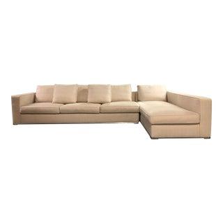 Maxalto Omnia Sectional Sofa-Extra Long For Sale