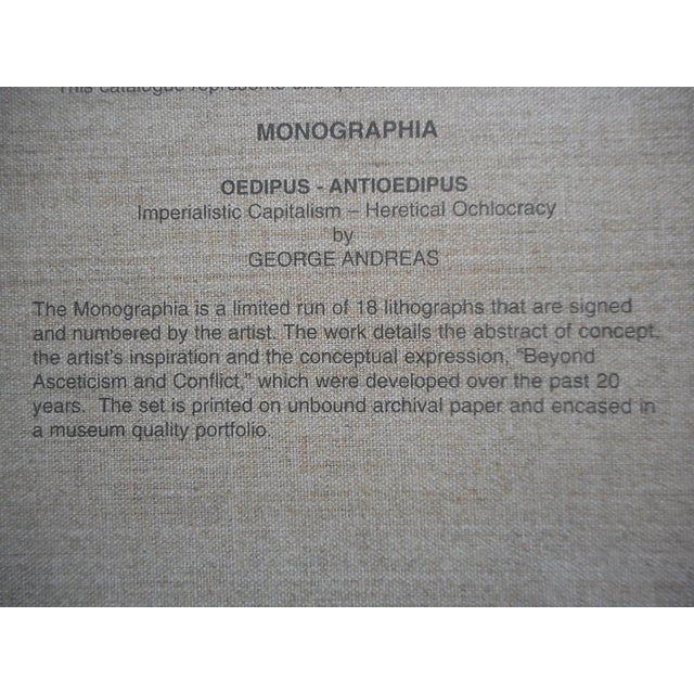 Monographia Lithograph by George Andreas - Image 3 of 4