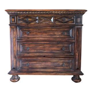 American Classical Hooker Seven Seas 4 Drawer Standard Dresser For Sale