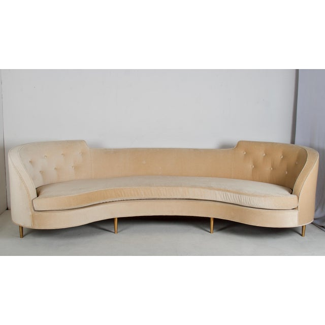Oasis Sofa by Wormley for Dunbar For Sale - Image 13 of 13