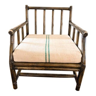 1970s Vintage Bamboo McGuire Chair For Sale