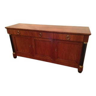 Baker Furniture Regency Style Cherry Sideboard