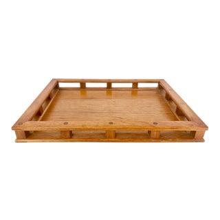 Vintage Dansk Teak Captain's Tray