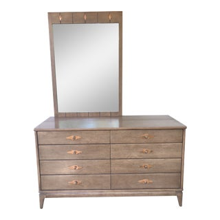 "Bryohill ""expressions"" Line Dresser & Mirror For Sale"