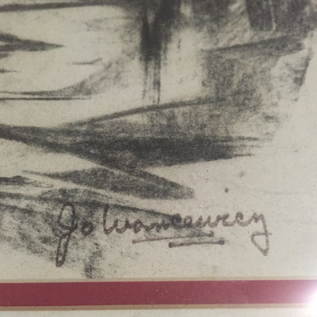 Mid-Century Signed Original Abstract Art - Image 5 of 6