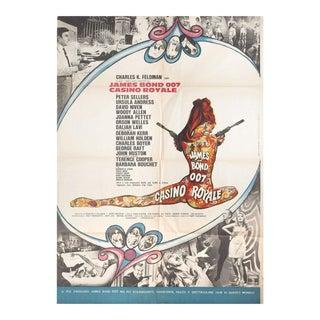 Casino Royale, 1967 Italian Due Fogli Film Poster For Sale