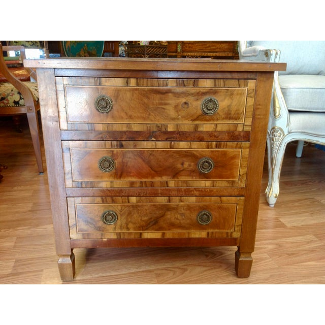 Wood Pair of Italian Chair Side Chests For Sale - Image 7 of 13