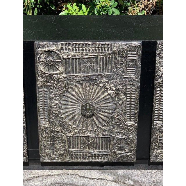 """Mid 20th Century Adrian Pearsall for Craft Associates """"Sculpted Bronze"""" Brutalist Credenza For Sale - Image 5 of 12"""